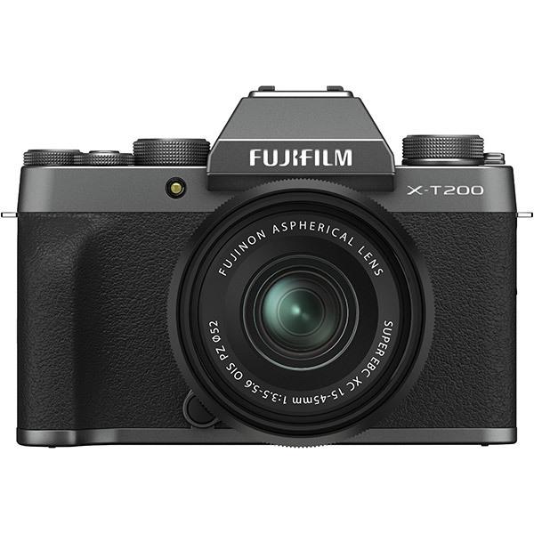 フジフイルム FUJIFILM X-T200 レンズキット [ダークシルバー] (XC15-45mmF3.5-5.6 OIS PZ 付)