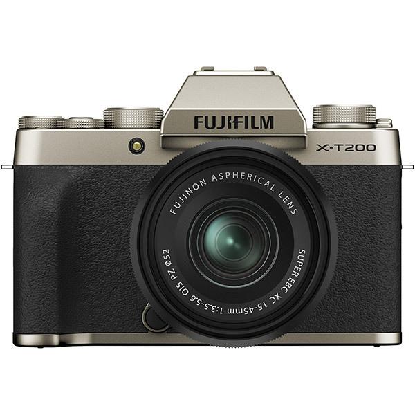 フジフイルム FUJIFILM X-T200 レンズキット [シャンパンゴールド] (XC15-45mmF3.5-5.6 OIS PZ 付)