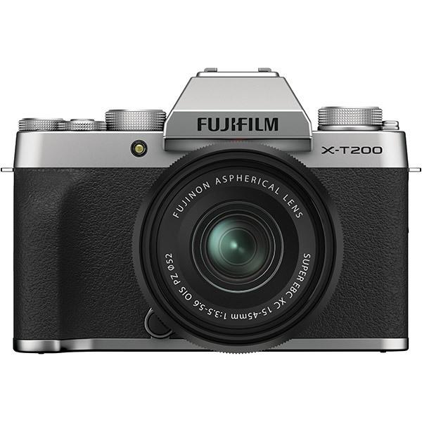 フジフイルム FUJIFILM X-T200 レンズキット [シルバー] (XC15-45mmF3.5-5.6 OIS PZ 付)