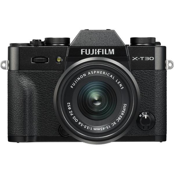 フジフイルム FUJIFILM X-T30 XC15-45mmF3.5-5.6 OIS PZレンズキット[ブラック]