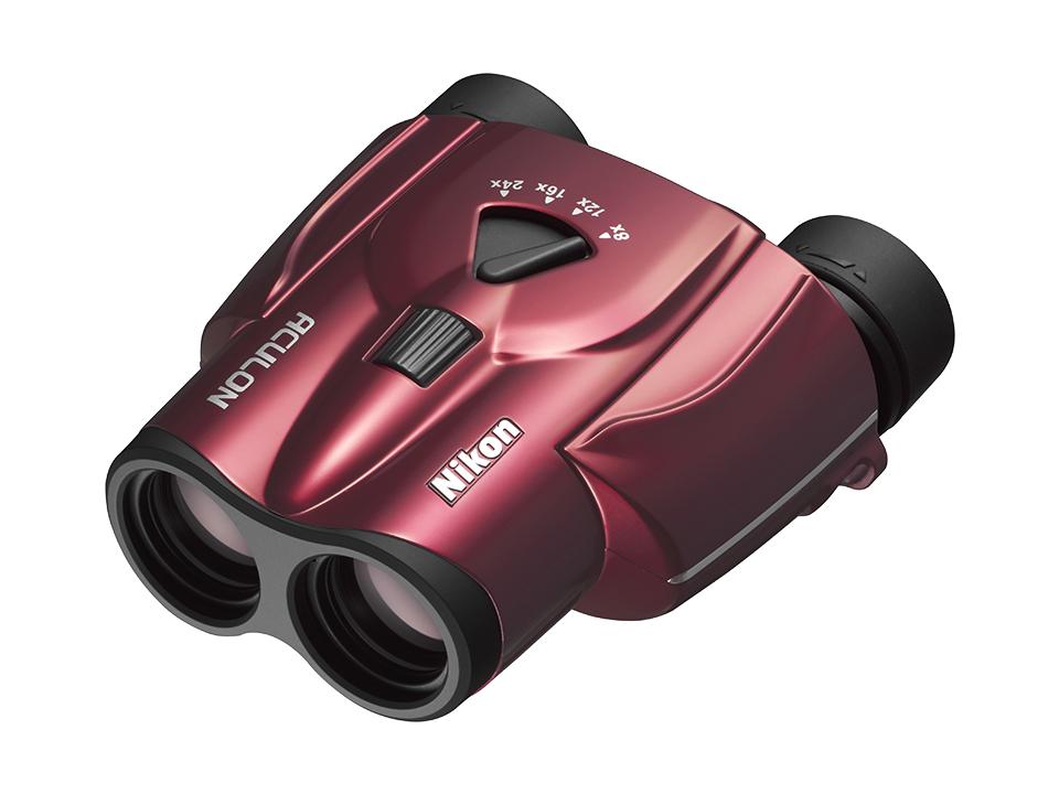 【スポーツ観戦に最適な3倍ズーム双眼鏡】ニコン アキュロンT11 レッド Nikon ACULON T11【他カラーあります】