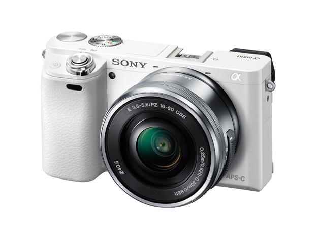 【新品】SONY ソニー α6000 パワーズームレンズキット ホワイト ILCE-6000L-W