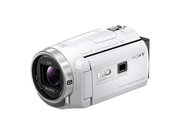 SONY ソニー デジタルHDビデオカメラレコーダー ハンディカム HDR-PJ680W ホワイト