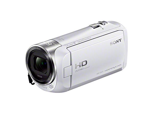 SONY ソニー HDR-CX470 ホワイト デジタルHDビデオカメラレコーダー ハンディカム