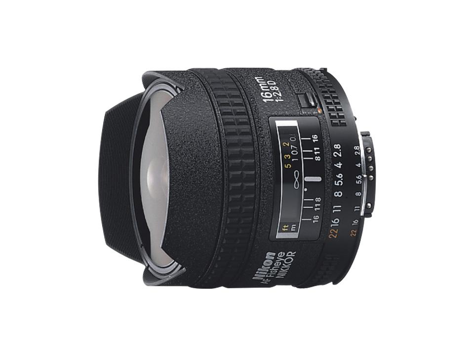 Nikon ニコン AI AF Fisheye-Nikkor 16mm f/2.8D