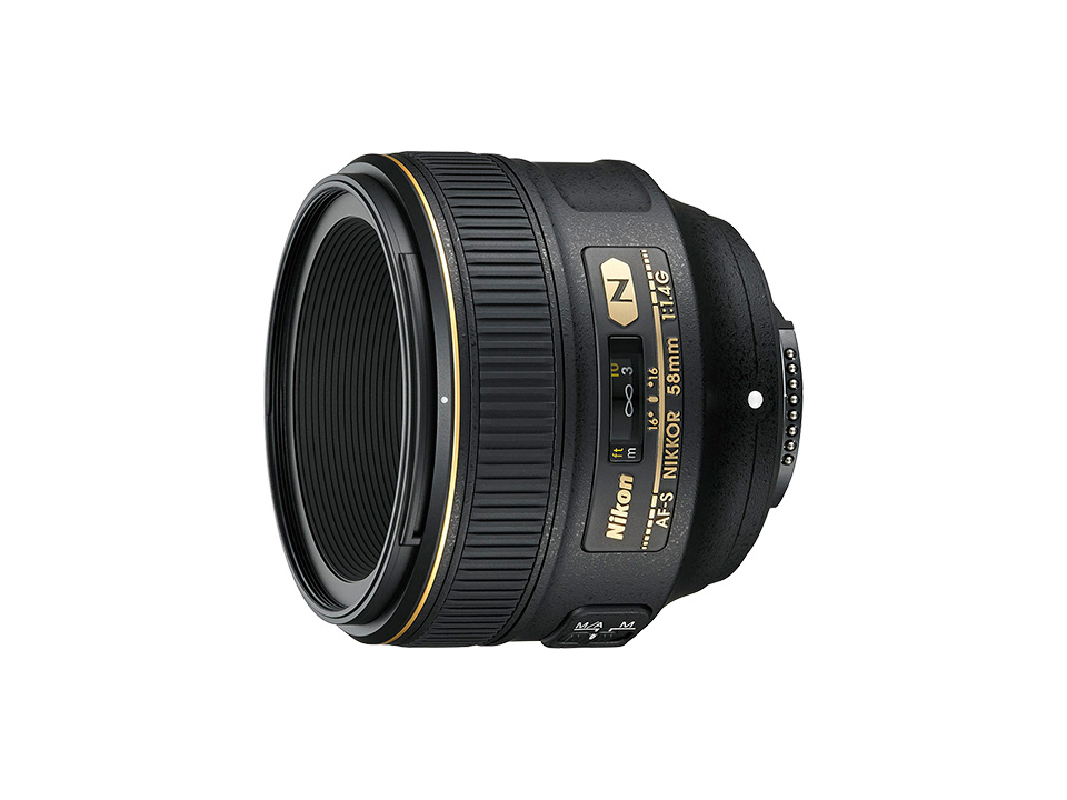 Nikon ニコン AF-S NIKKOR 58mm f/1.4G