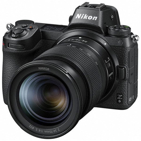 NIKON ニコン Z 6 24-70 レンズキット [ボディ+交換レンズ「NIKKOR Z 24-70mm f/4 S」