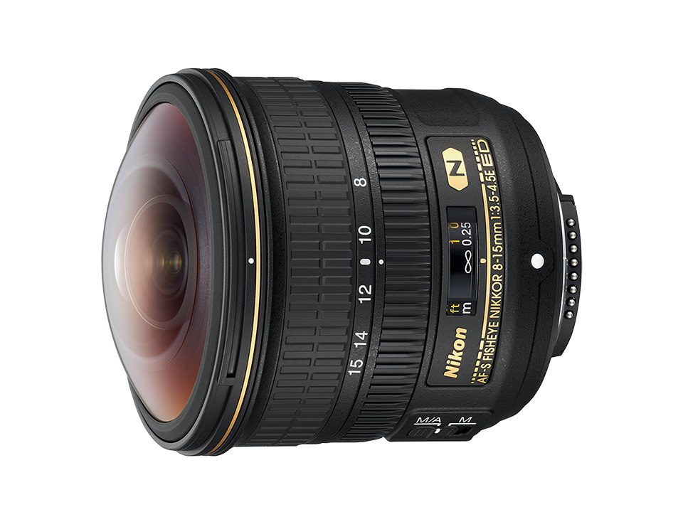 Nikon ニコン AF-S Fisheye NIKKOR 8-15mm f/3.5-4.5E ED