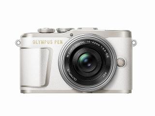 OLYMPUS オリンパス PEN E-PL9 14-42mm EZ レンズキット(ホワイト)ミラーレス一眼
