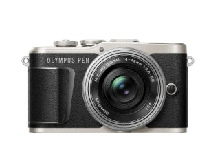 OLYMPUS オリンパス PEN E-PL9 14-42mm EZ レンズキット(ブラック)ミラーレス一眼
