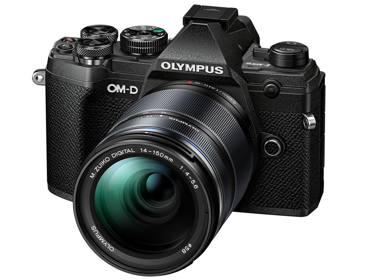 OLYMPUS オリンパス OM-D E-M5 Mark III 14-150mmII レンズキット(ブラック)