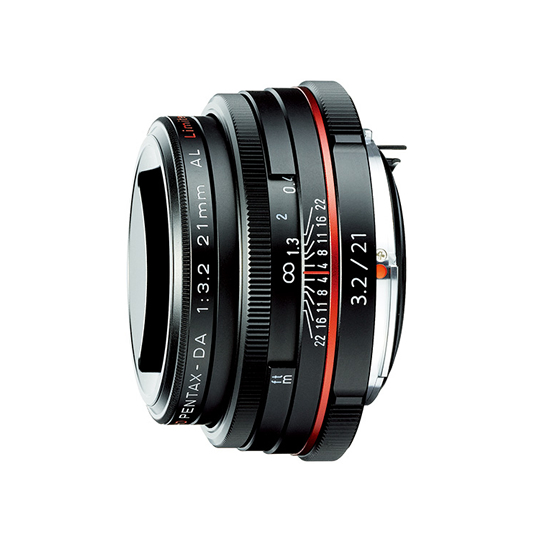 ペンタックス HD PENTAX-DA 21mmF3.2AL Limited BK