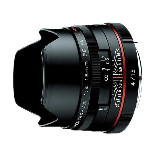 ペンタックス HD PENTAX-DA 15mmF4ED AL Limited BK