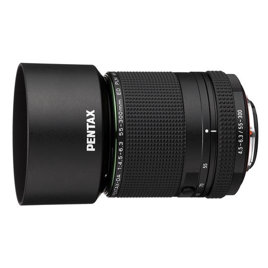 ペンタックス HD PENTAX-DA 55-300mmF4.5-6.3ED PLM WR