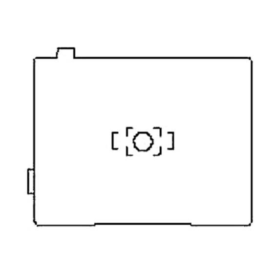 ペンタックス リコー pentax richo 645D FOCUSING SCREEN DF-80