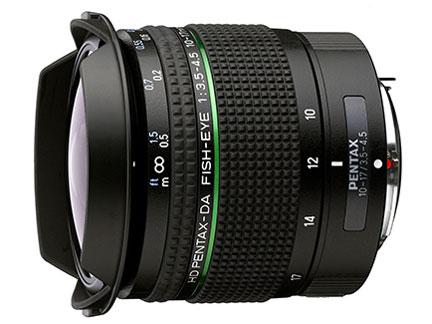 ペンタックス HD PENTAX-DA FISH-EYE10-17mmF3.5-4.5ED