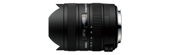 シグマ SIGMA 8-16mm F4.5-5.6 DC HSM キヤノン用