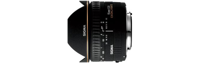 シグマ SIGMA 15mm F2.8 EX DG DIAGONAL FISH-EYE キヤノン用