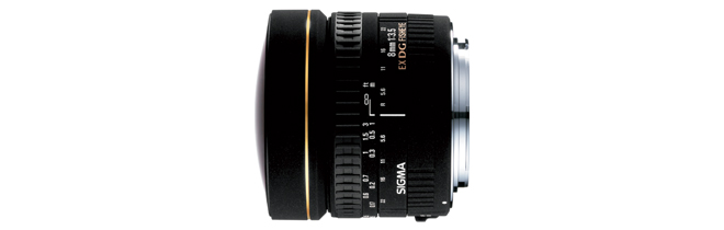 シグマ SIGMA 8mm F3.5 EX DG CIRCULAR FISH-EYE ニコン用