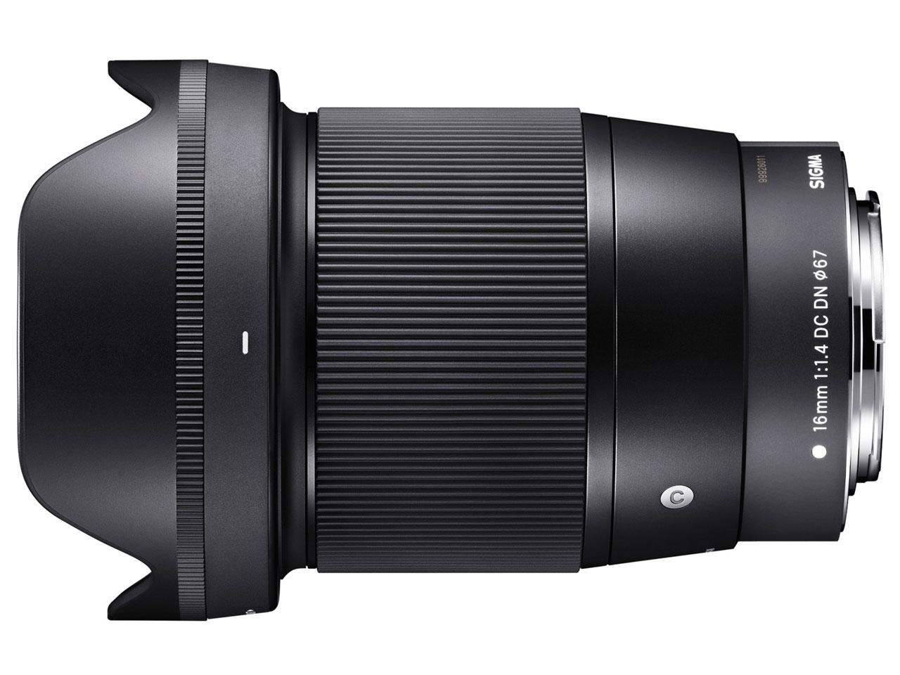 シグマ SIGMA 16mm F1.4 DC DN Contemporary キヤノンEF-Mマウント用