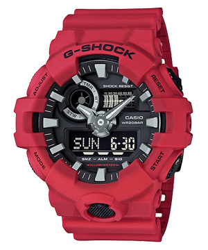 【新品】G-SHOCK GA-700-4AJF CASIO カシオ