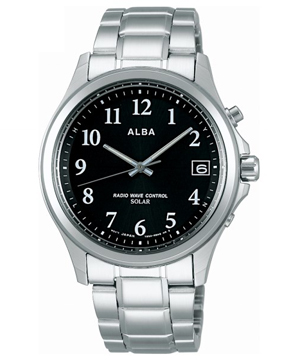 【新品】ALBA AEFY501 SEIKO アルバ セイコー ソーラー 電波時計