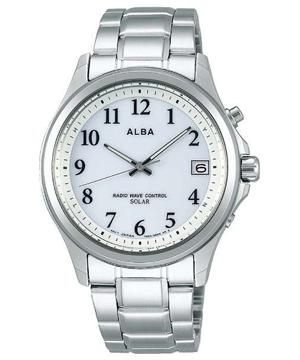 【新品】ALBA AEFY503 SEIKO アルバ セイコー ソーラー 電波時計