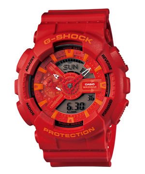 【新品】G-SHOCK GA-110AC-4AJF Blue and Red Series CASIO カシオ ブルー&レッドシリーズ