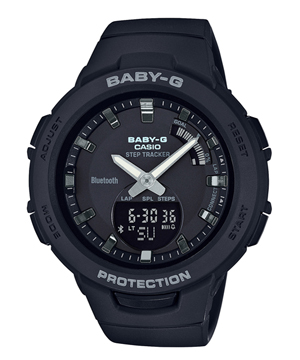 【新品】Baby-G BSA-B100-1AJF G-SQUAD カシオ CASIO ジー・スクワッド スマートフォンリンク