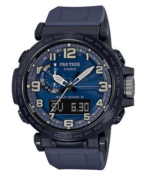 【新品】PRO TREK PRW-6600Y-2JF NAVY BLUE SERIES CASIO カシオ プロトレック ネイビーブルーシリーズ ソーラー電波 トリプルセンサー
