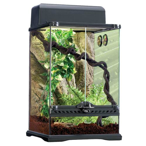 ハビタットキット・レインフォレスト爬虫類飼育12点セット(樹上環境用)PT2660 GEX(ジェックス)