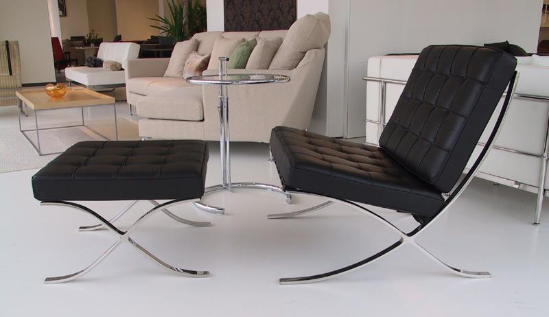 バルセロナチェア&オットマンセット HomeEdition デラックスレザー CH7002S E-comfort(イーコンフォート)