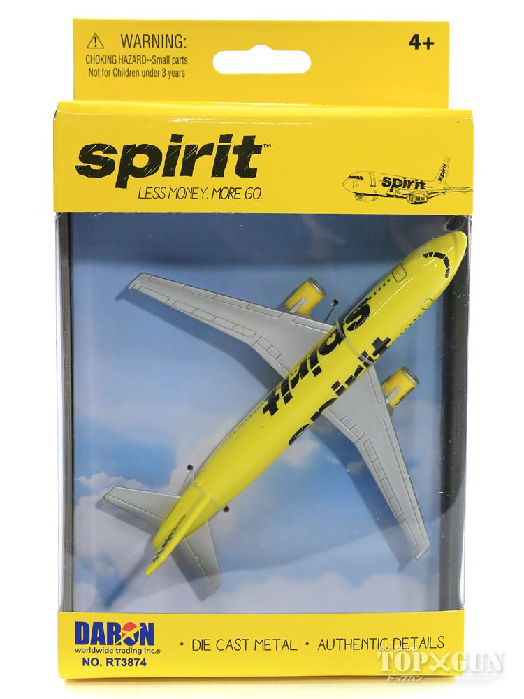 店頭受取対応商品 A319 スピリット航空 ノンスケールDARON飛行機 完成品 RT3874 最安値挑戦 即出荷 模型