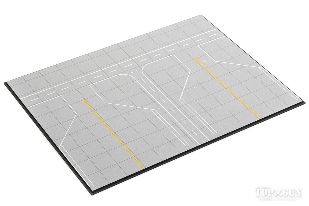 正規激安 空港ジオラマ 空港エプロン アクリル板 別売り建物設置可 1 500スケール用 贈呈 デルタグルーヴ Delta Groove 完成品 飛行機 RI4-02HE 模型
