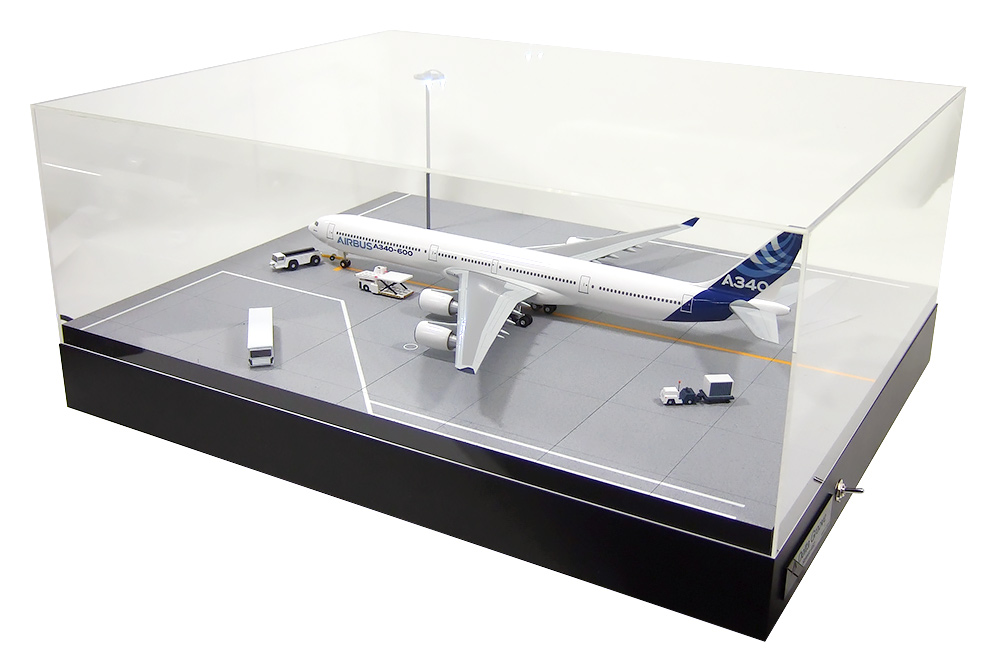 Roteiro4-03 空港エプロン(駐機場) LED組込式ライトアップセット 1/200スケール用 ※受注生産 デルタグルーヴ/Delta Groove 飛行機/模型/完成品 [R4-03]