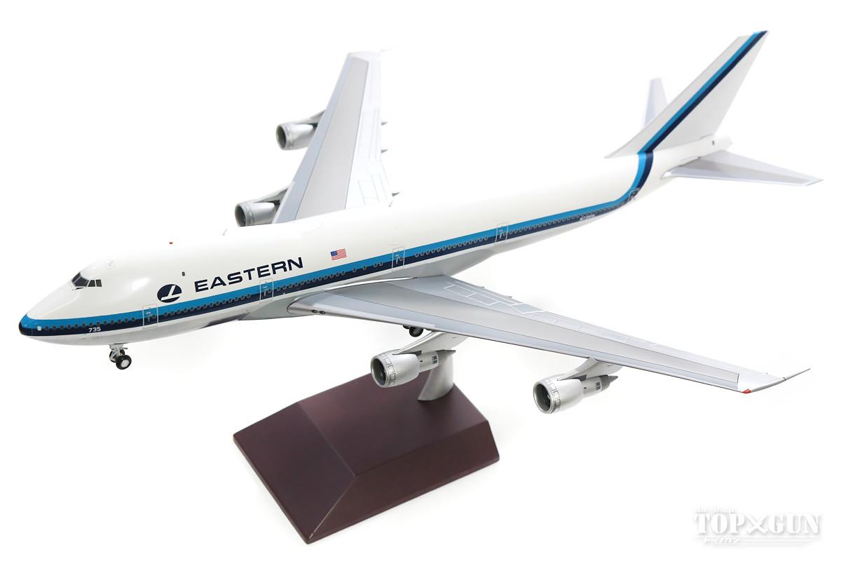 747-100 イースタン航空 (Polished) N735PA 1/200 2018年11月29日発売 Gemini200/ジェミニ200飛行機/模型/完成品 [G2EAL747]