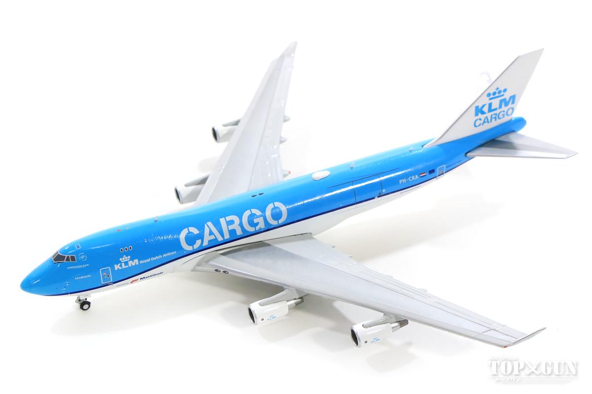 ボーイング 747-400F(貨物型) KLM CARGO(マーチン・エア) PH-CKA 1/400 2019年2月6日発売 Gemini Jets/ジェミニジェッツ飛行機/模型/完成品 [GJKLM1827]