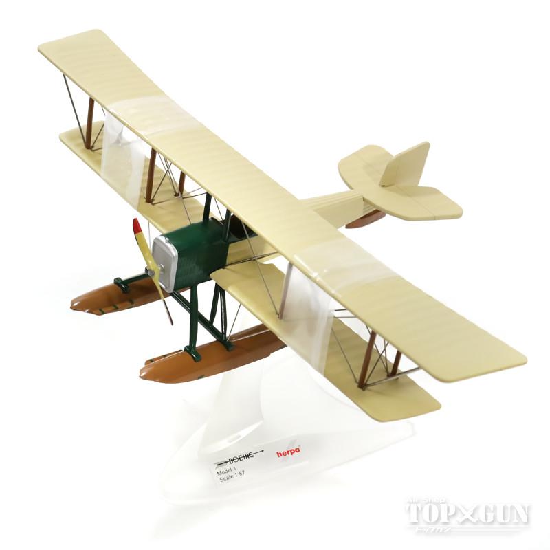 ボーイング&ウェスターベルト(B&W)モデル1水上機 創業第1号機 1/87 ※新金型/金属製 2016年7月2日発売herpa/ヘルパウィングス飛行機/模型/完成品 [019316]