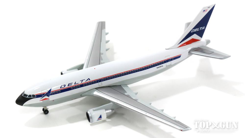 エアバス A310-200 デルタ航空 90年代 N805PA 1/500 ※ヘルパクラブモデル 2016年5月28日発売 herpa/ヘルパウィングス飛行機/模型/完成品 [528412]