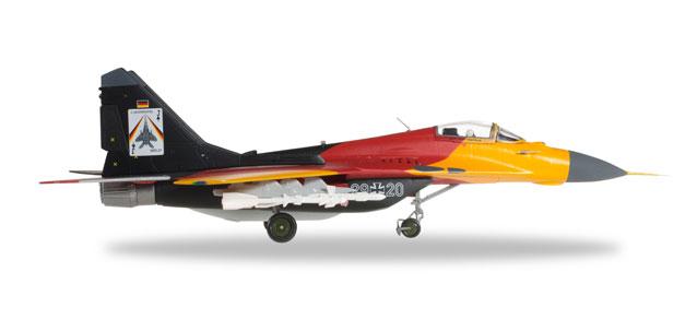 MiG-29G ドイツ空軍 第73戦闘航空団 第1中隊 特別塗装 「解散記念」 03年 29+20 1/72 2016年6月4日発売 herpa/ヘルパウィングス飛行機/模型/完成品 [580021]