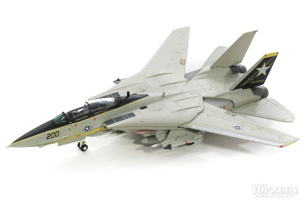 F-14A アメリカ海軍 第33戦闘飛行隊 「スターファイターズ」 シドラ湾事件時 86年3月 #200 1/200 2018年8月25日発売 herpa/ヘルパウィングス飛行機/模型/完成品 [558891]