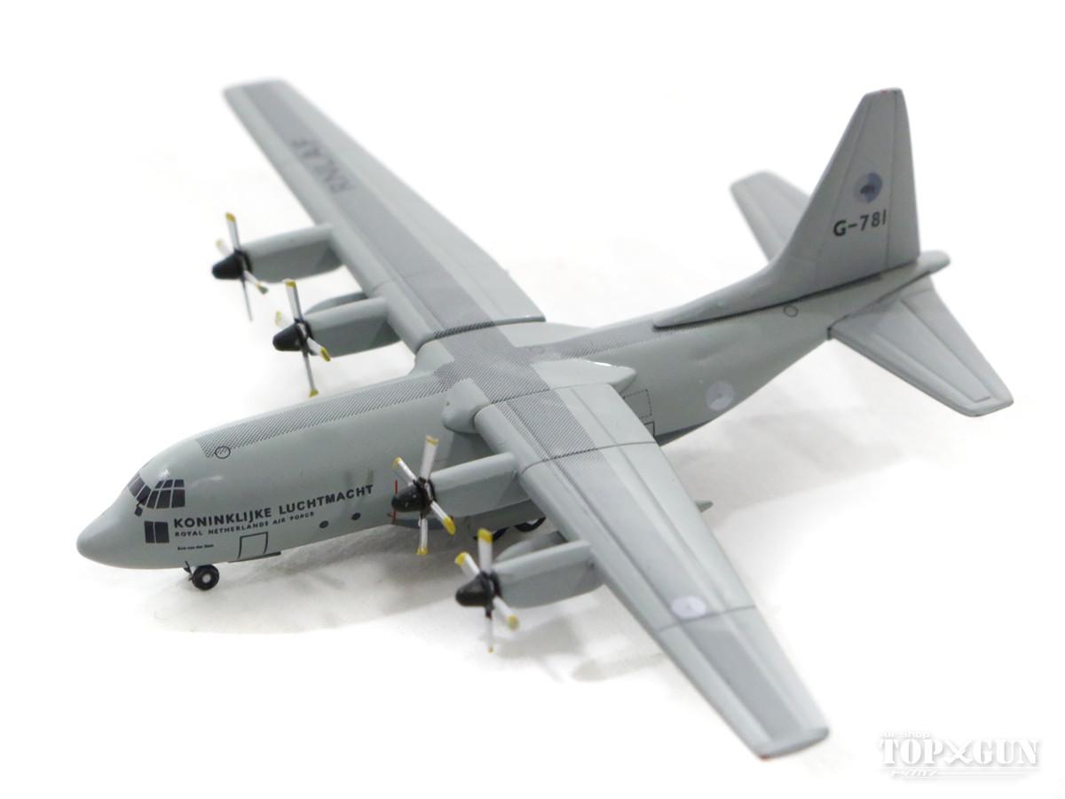 C-130H オランダ空軍 第336輸送飛行隊 アイントホーフェン基地 G-781 1/500 2018年3月8日発売herpa/ヘルパウィングス飛行機/模型/完成品 [530477]