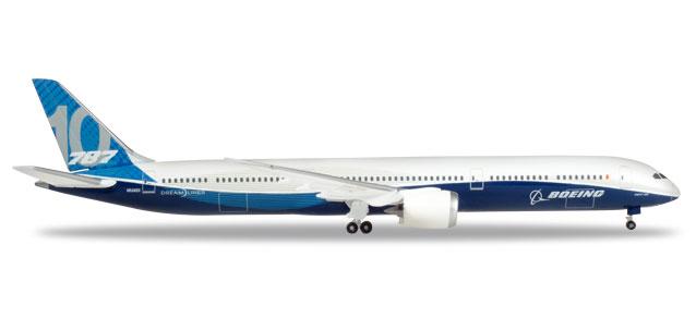 787-10 ボーイング社 ハウスカラー N528ZC 1/500 2018年2月10日発売 herpa/ヘルパウィングス飛行機/模型/完成品 [530781]