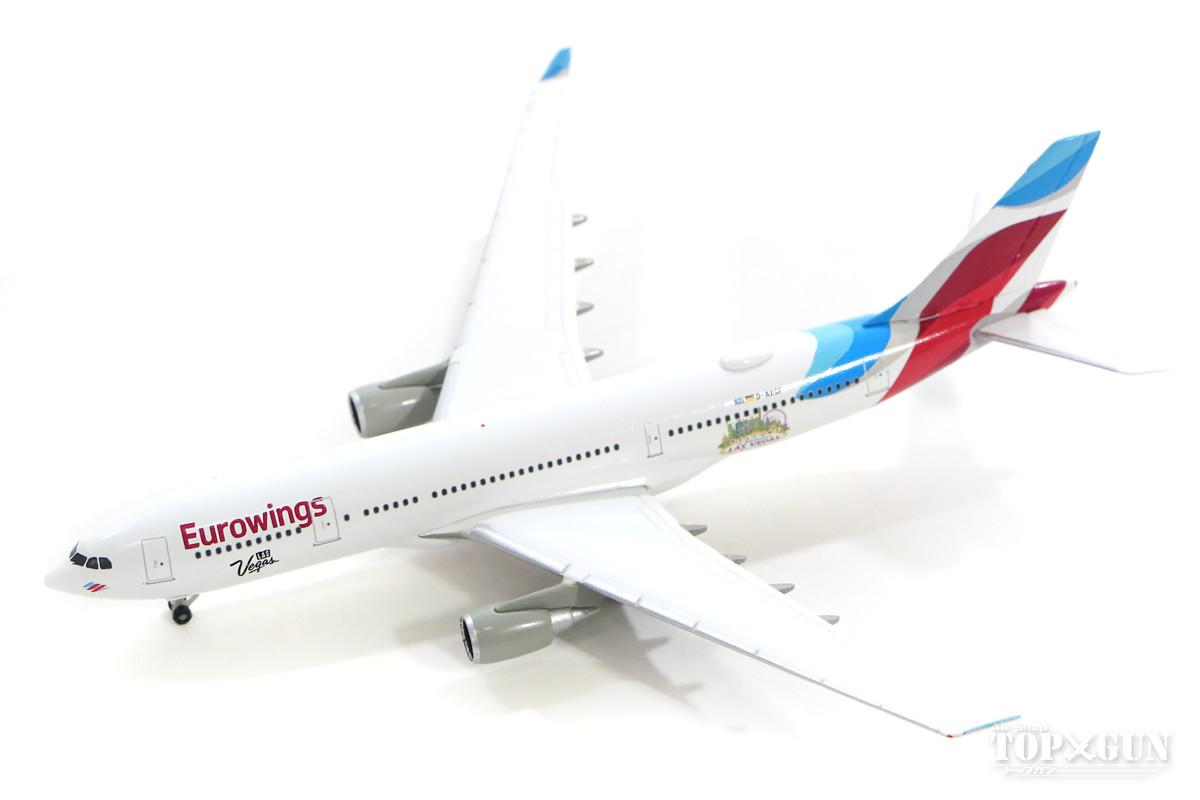 エアバス A330-200 ユーロウイングス 「Las Vegas」 D-AXGF 1/500 2018年9月13日発売 herpa/ヘルパウィングス飛行機/模型/完成品 [531436]