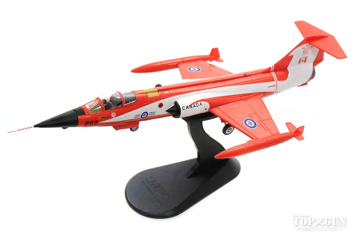 CF-104 カナダ空軍 第421飛行隊 特別塗装 「フライング・コークボトル」 81年 #104868 1/72 2018年5月17日発売 Hobby Master/ホビーマスター飛行機/模型/完成品 [HA1037]