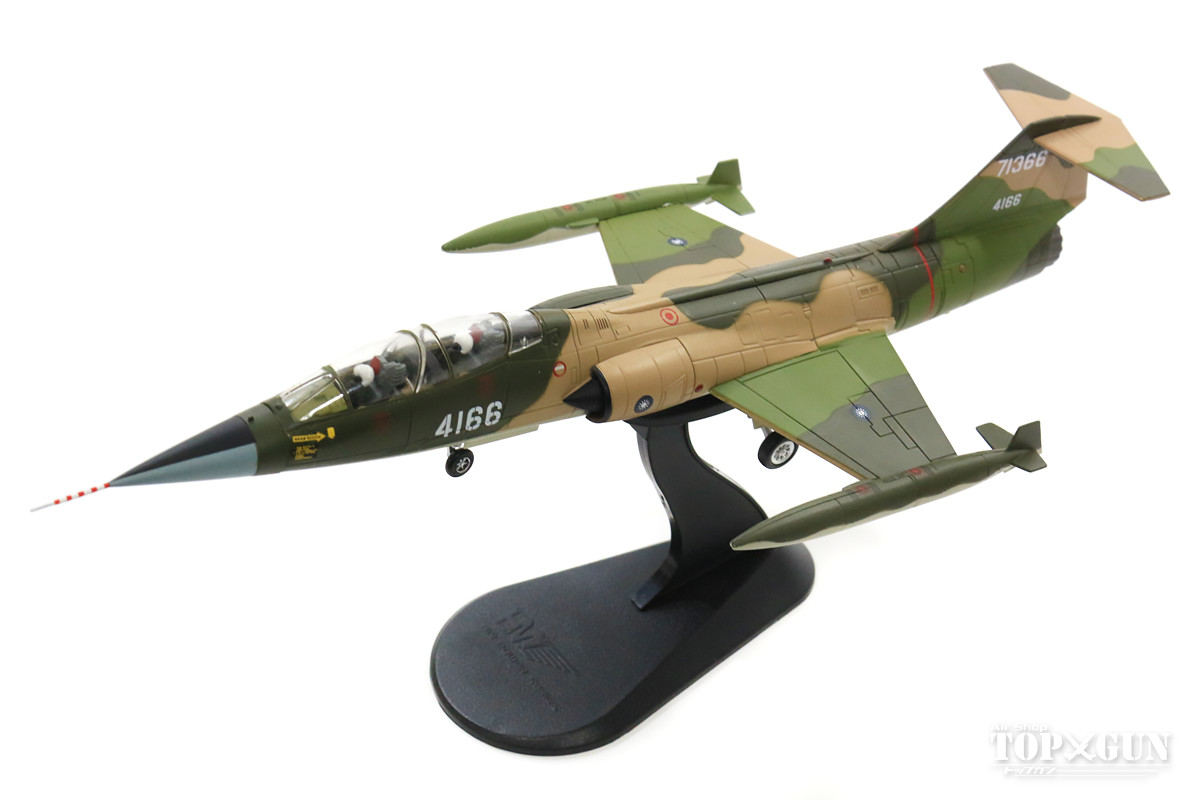 F-104D(複座型) 中華民国空軍 第427戦術戦闘機聯隊 清泉崗基地 70年代 #4166 1/72 2018年5月17日発売Hobby Master/ホビーマスター飛行機/模型/完成品 [HA1042]