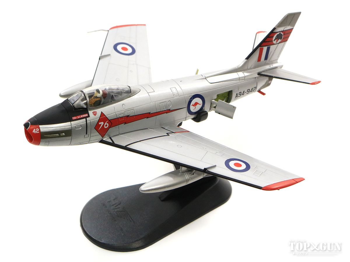 CAC セイバーMk.31(F-86F) オーストラリア空軍 第76飛行隊 アクロバットチーム「レッド・ダイアモンズ」 62年 A94-942 1/72 2018年5月17日発売 Hobby Master/ホビーマスター飛行機/模型/完成品 [HA4316]