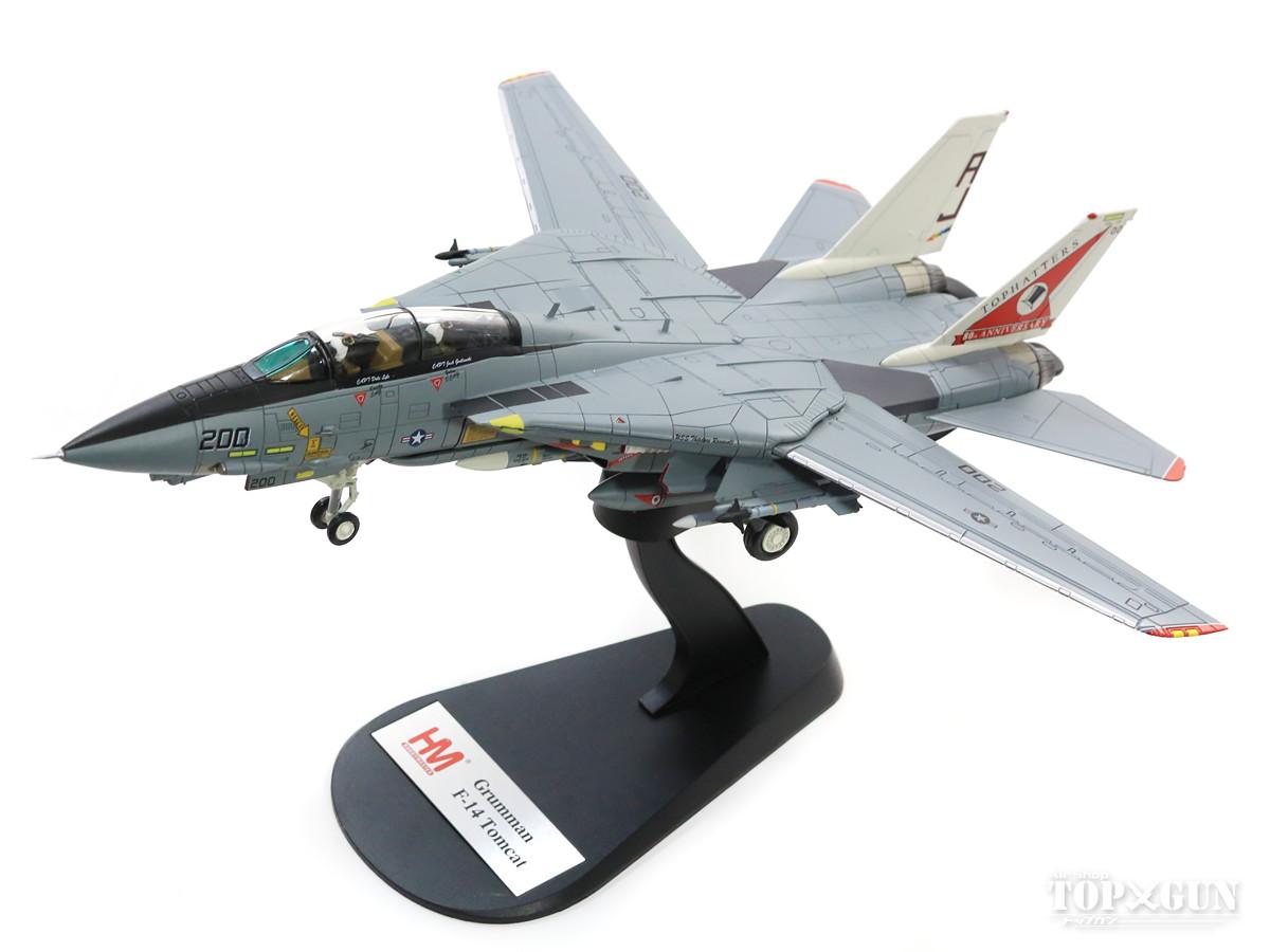 F-14A アメリカ海軍 第14戦闘飛行隊 「トップハッターズ」 特別塗装「部隊創設80周年」 99年 200/#162698 1/72 2018年6月1日発売 Hobby Master/ホビーマスター飛行機/模型/完成品 [HA5214]