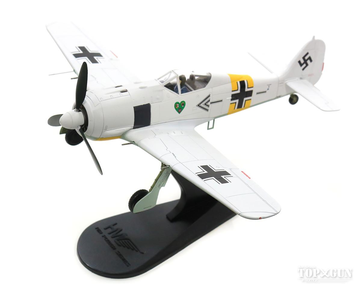 Fw190A-4 ドイツ空軍 第54戦闘航空団 司令ハンネス・トラウトロフト中佐機 東部戦線 43年 #8 1/48 2018年5月17日発売 Hobby Master/ホビーマスター飛行機/模型/完成品 [HA7422]
