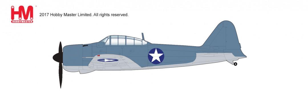 三菱A6M2零式艦上戦闘機21型 アメリカ海軍(アリューシャンでの鹵獲機) 42年 1/48 2018年8月8日発売 Hobby Master/ホビーマスター飛行機/模型/完成品 [HA8804]